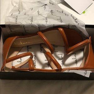 brand new! Lulu's strappy sandals
